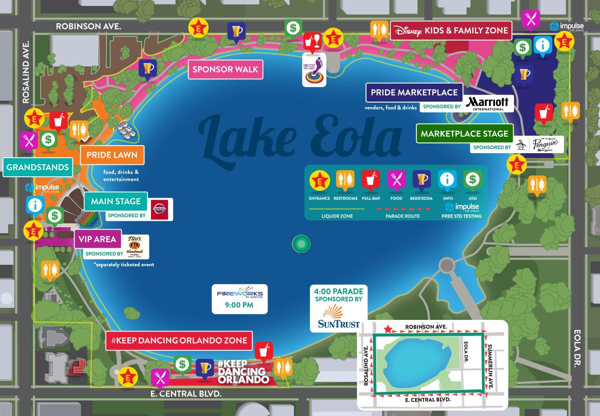 2017 Festival Map