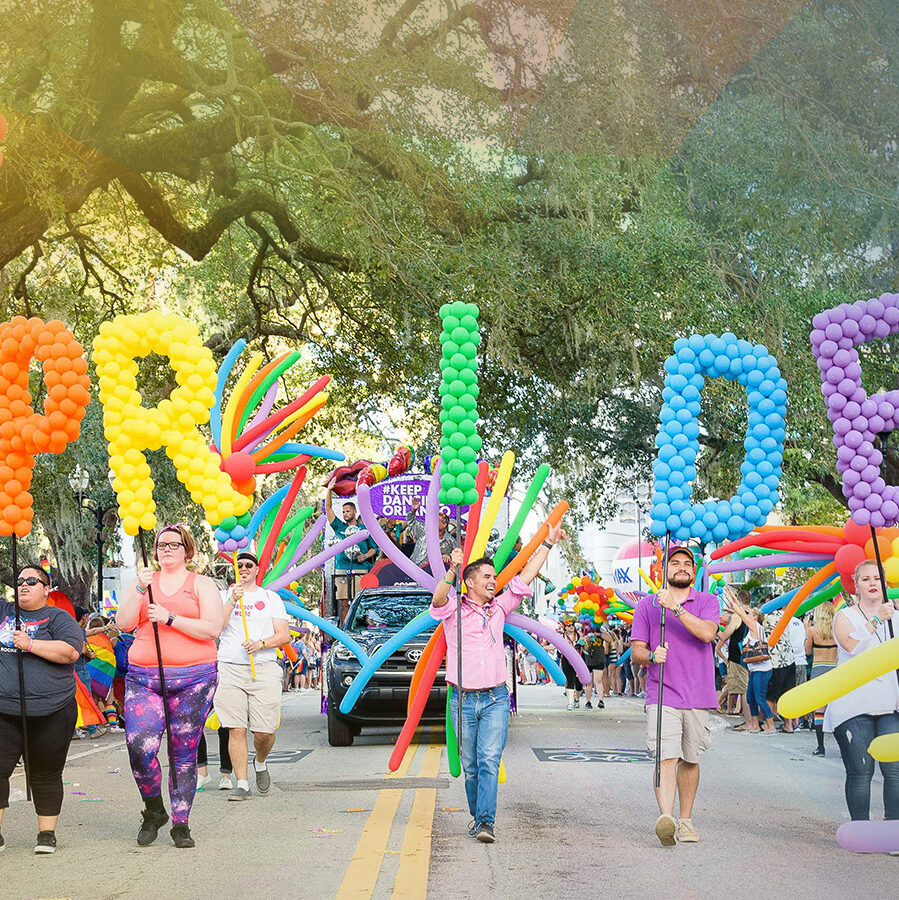 The Most Colorful Parade